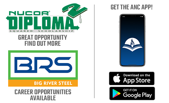 Nucor Diploma² Scholarship, Big River Steel, and the ANC App